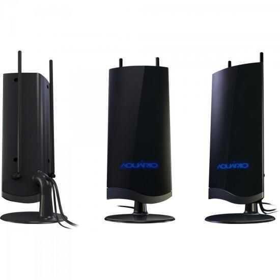 Antena Digital Amplificada VHF/UHF/FM/HDTV DTV-4600 AQUÁRIO