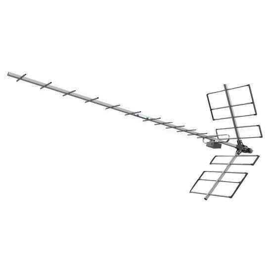Antena UHF Digital Yagi PROHD-1118 PROELETRONIC