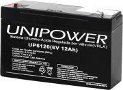 Bateria Selada 6V 12Ah (UP6120) UNIPOWER