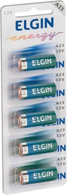 Bateria Alcalina a23 12V Cartela Com 5 82195 ELGIN