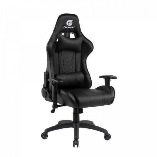 Cadeira Gamer Black Hawk Preta FORTREK