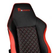 Cadeira Gamer GTC500 Preta e Vermelha GC-GTC-BRLFDL-01 THERMALTAKE