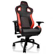 Cadeira Gamer GTF100 Preta e Vermelha GC-GTF-BRMFDL-01 THERMALTAKE