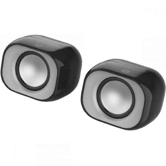Caixa de Som 2x3W Speaker 2.0 DHS-2111 Preta - HP