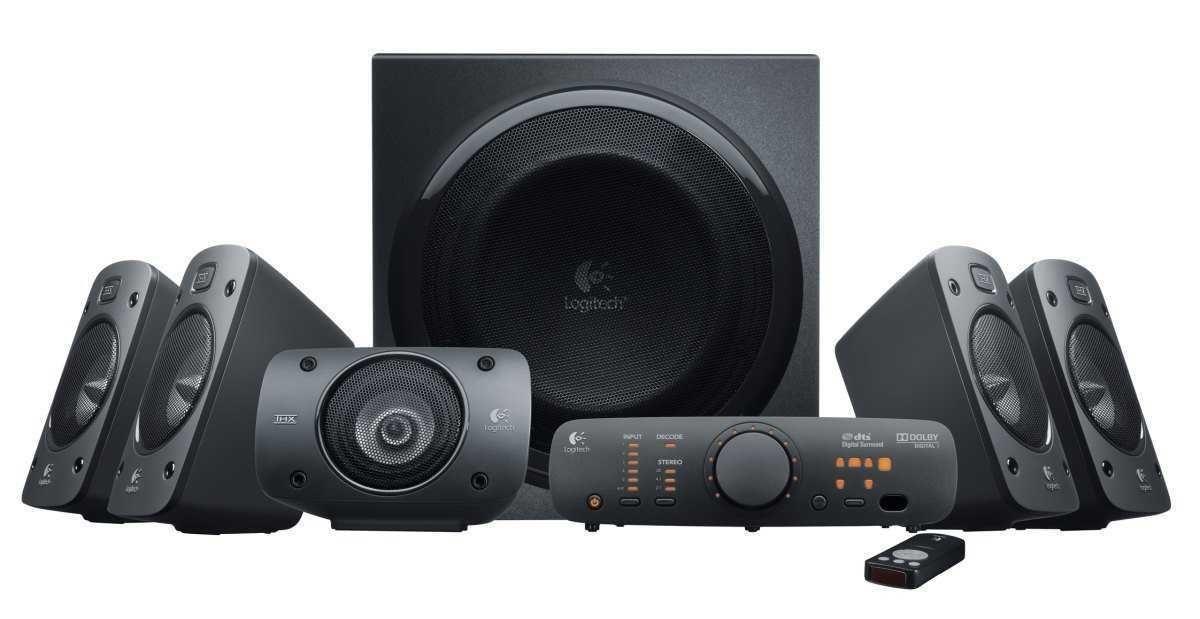 Caixa de Som Amplificada 980-000467 Speaker Z906 500W LOGITECH