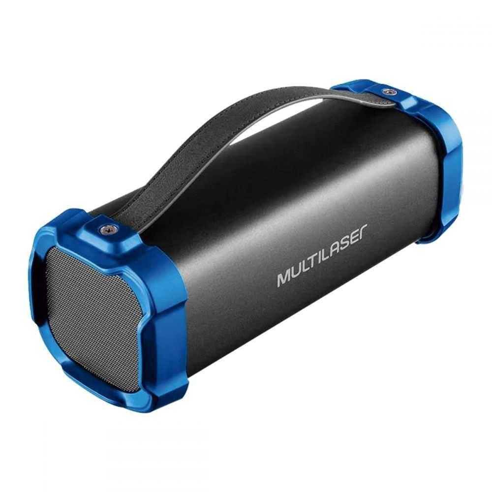 Caixa De Som BAZOOKA Bluetooth 50W (BT/AUX/USB/FM) SP350 MULTILASER