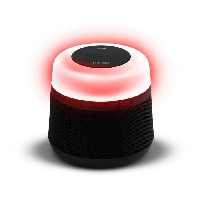 Caixa De Som W-CHARGE 15W Bluetooth/USB/SD Com Bateria Interna e Iluminação NOVIK