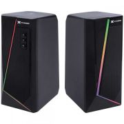 Caixa de Som Gamer 2.0 Blast RGB Led 10w Bluetooth - CXBLRGB10W VINIK