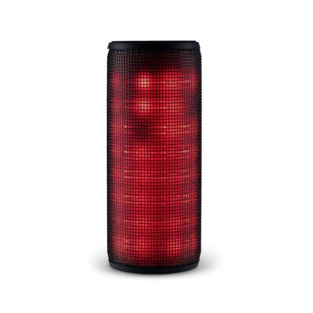 Caixa de Som Led 10W Preta (Bluetooth, Usb, Sd e Aux) SP304 MULTILASER
