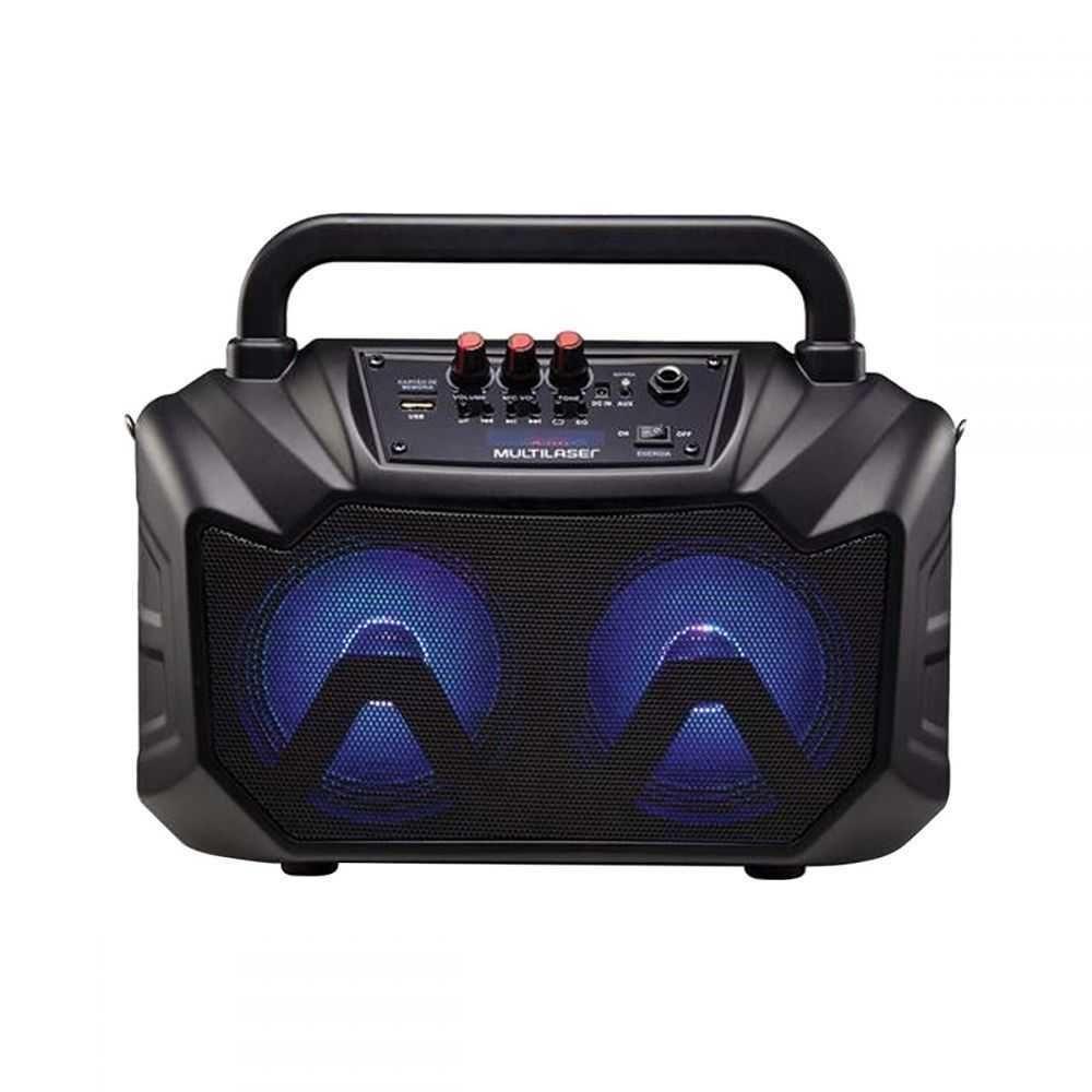 Caixa de Som Multimídia 6 em 1 (usb/sd/fm/Bluetooth)  80W rms Com Bateria SP289 MULTILASER