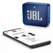 Caixa Multimídia Portátil GO 2 Azul JBL