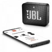 Caixa Multimídia Portátil GO 2 Preta JBL