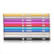 Capa Bumper Luxo Sony Xperia Z4 (Z3+) Alumínio Prata