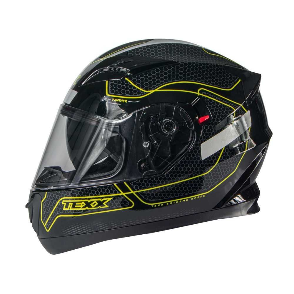 Capacete G2 Panther Verde 61 TEXX