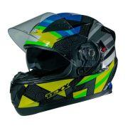 Capacete G2 Trento Amarelo/Verde 60 TEXX