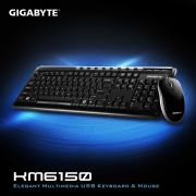 Combo Mouse + Teclado KM6150 GK-KM6150 GIGABYTE