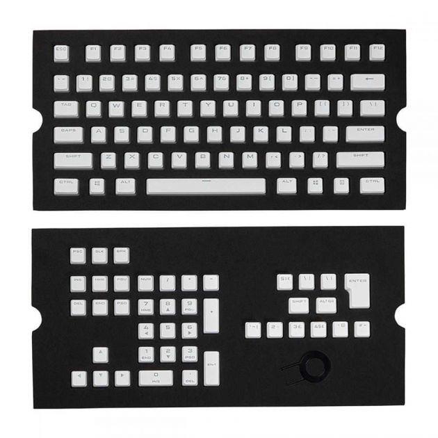 Conjunto De Teclas Para Teclado Mecânico (Branco) CH-9000234-WW CORSAIR