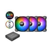 Fan Pure Plus Com 3 fans 12cm RGB Premium THERMALTAKE