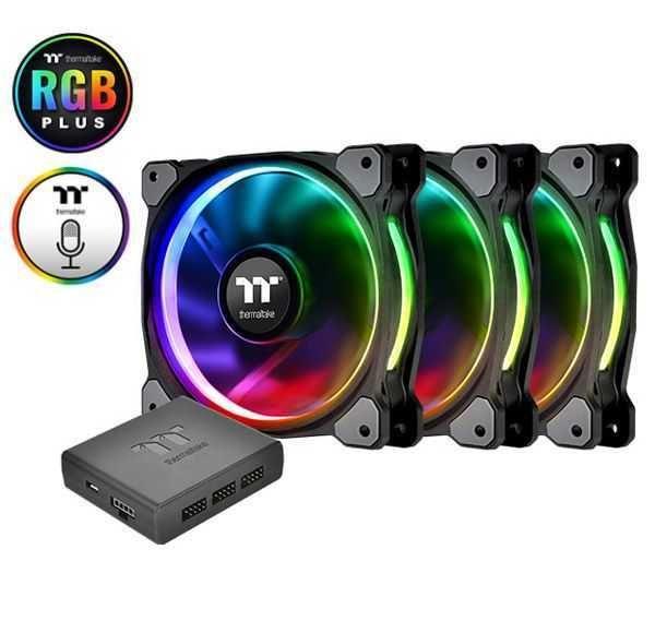 Fan Riing Plus Premium Edition 14cm RGB CL-F056-PL14SW-A THERMALTAKE