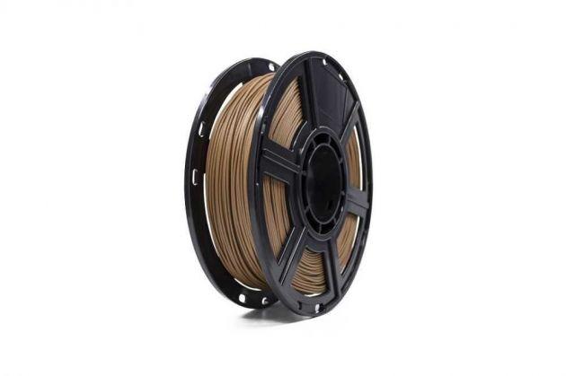 Filamento Impressora 3D PLA Madeira Escuro 0.5KG FLASHFORGE