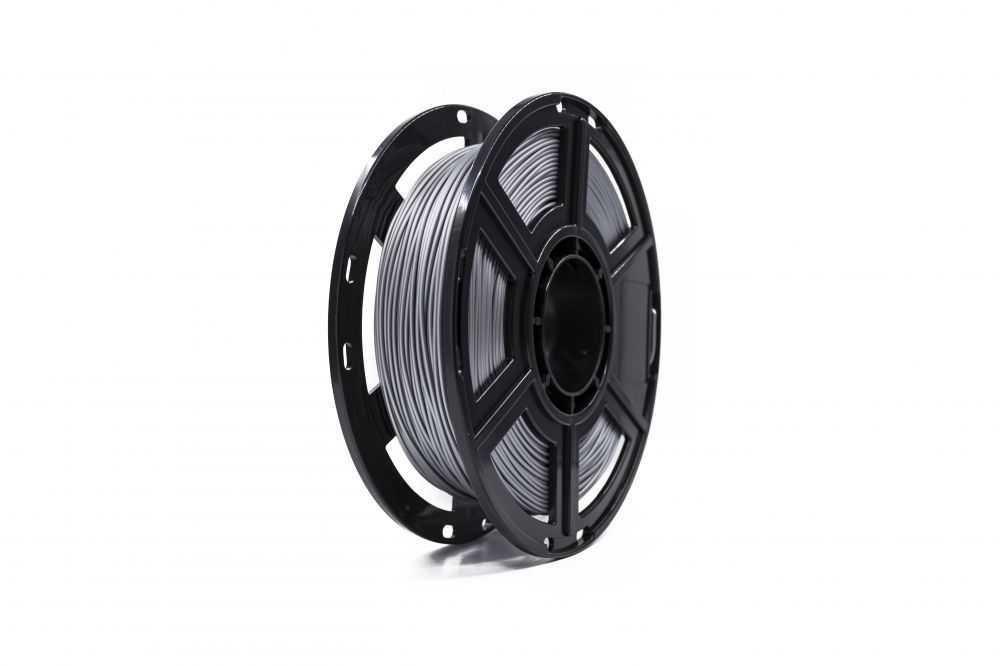 Filamento Para Impressora 3D Pla Metálico Aluminio 1Kg FLASHFORGE