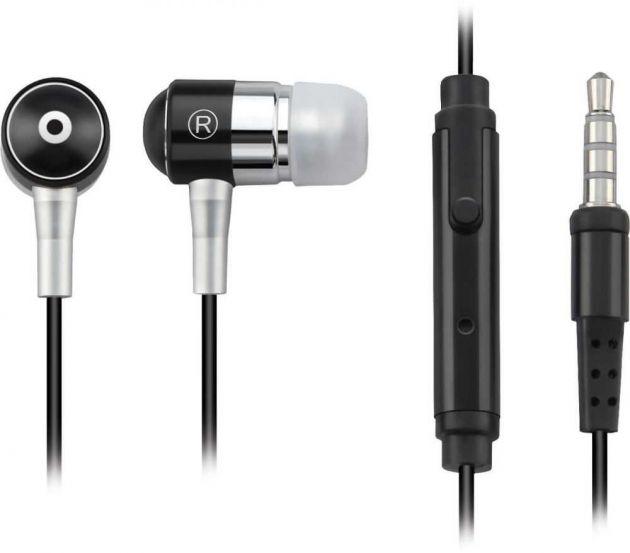 Fone De Ouvido Com Microfone P2 Preto 3.5 mm (Ipod, Iphone, MP3, Celular e Tablet) MULTILASER