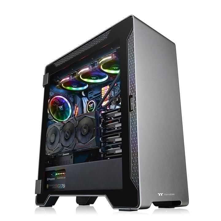 Gabinete A500 Aluminum TG Cinza CA-1L3-00M9WN-00 THERMALTAKE