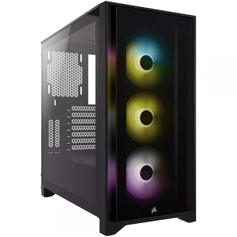 Gabinete ATX Mid Tower 4000 Series - 4000X RGB Black CC-9011204-WW CORSAIR