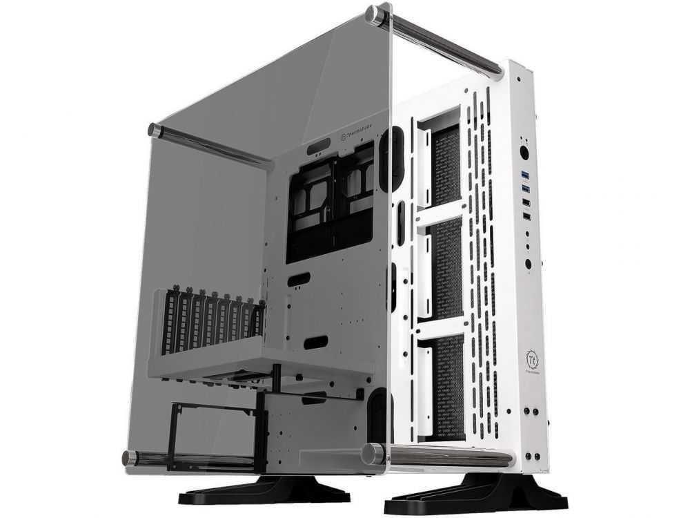 Gabinete Core P3 Vidro Temperado Branco CA-1G4-00M1WN-05 THERMALTAKE