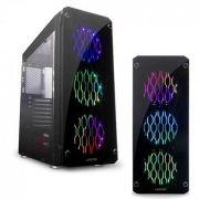 Gabinete Gamer Rutile RGB v2 LIKETEC