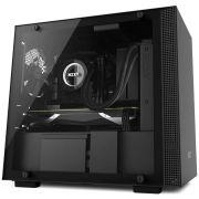 Gabinete H200I Black MINI-ITX TG CA-H200W-BB NZXT
