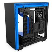 Gabinete H700 Matte Black/Blue TG CA-H700B-BL NZXT