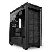 Gabinete H700 Matte Black TG CA-H700B-B1 NZXT