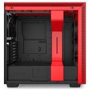 Gabinete H710i Vermelho Mid Tower Vidro Temperado CA-H710I-BR NZXT
