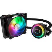 Gabinete MasterCase H500P RGB + Water Cooler MasterLiquid ML120RS RGB COOLER MASTER