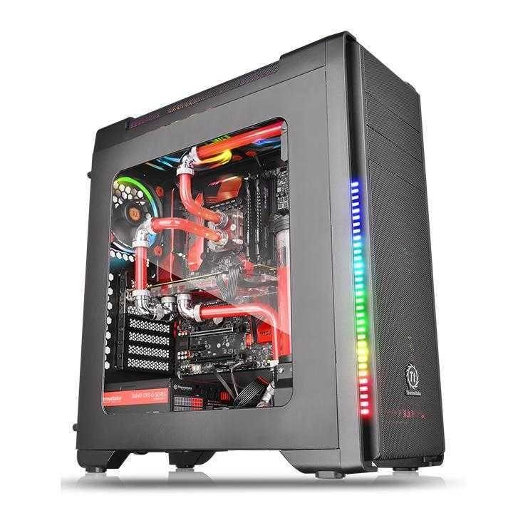 Gabinete Versa C21 RGB Preto CA-1G8-00M1WN-00 THERMALTAKE