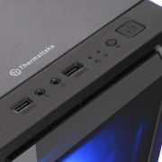 Gabinete Versa J22 Vidro Temperado 3 Fans RGB THERMALTAKE