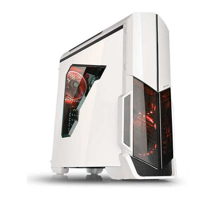 Gabinete Versa N21 Snow Edition Fan Led Vermelho CA-1D9-00M6WN-03 THERMALTAKE