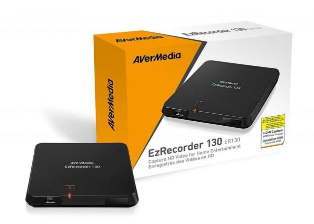 Gravador de video e TV EzRecorder ER130 AVERMEDIA