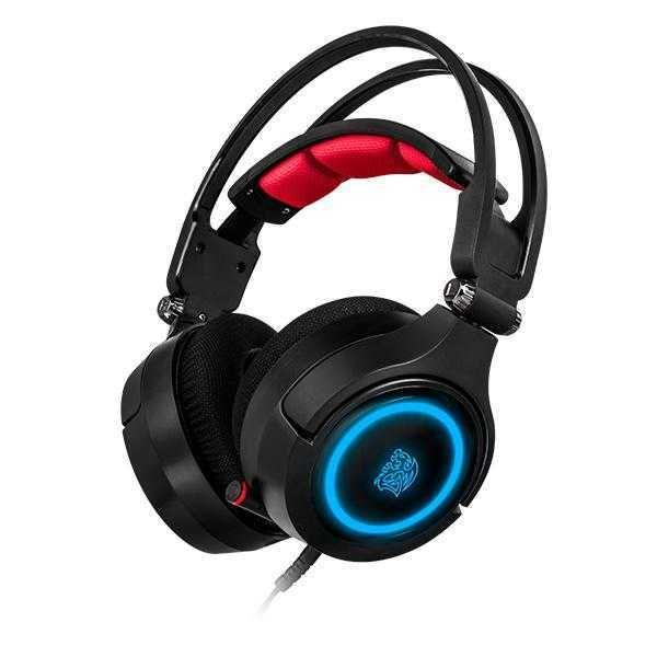 Headset Cronos Riing RGB 7.1 Digital 3D HT-CRA-DIECBK-20 THERMALTAKE