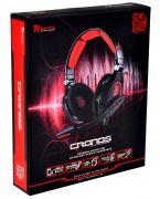 Headset Cronos USB P2 HT-CRO008ECBL Preto THERMALTAKE