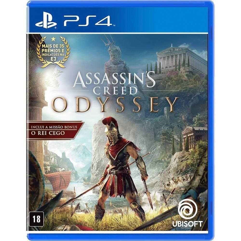 Jogo Assassins Creed Odyssey para PlayStation4 UB2022AL