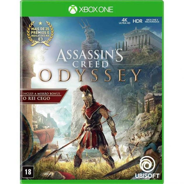 Jogo Assassins Creed Odyssey para Xbox One UB2022OL