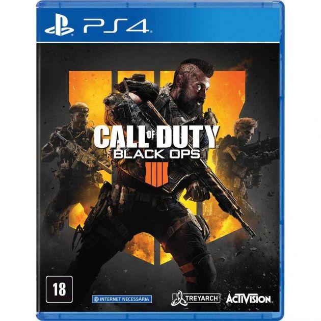 Jogo Call of Duty: Black ops 4 para PlayStation 4 P4DA00730601FGM