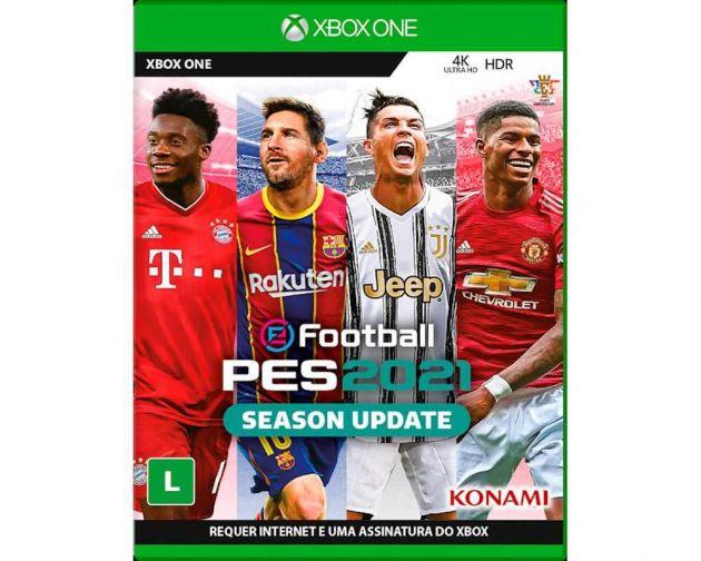 Jogo PES 2021 Xbox One Blu-ray KO000007XB1 KONAMI