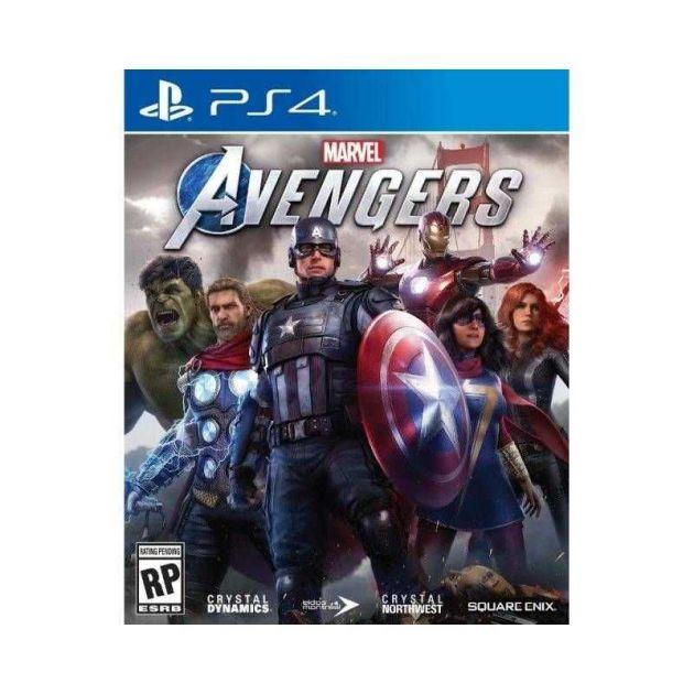 Jogo Marvels Avengers PS4 Blu-ray Playstation 4 SE000213PS4 SQUARE ENIX