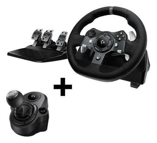 Kit Volante G920 e Câmbio Driving Force para Xbox One/PC LOGITECH