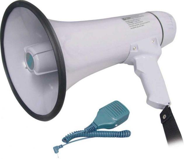 Megafone HMP1503 20W Com Sirene 0561 (Alcance Máx. 600 Metros) CSR