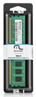 Memória UDIMM 4GB DDR3 1600MHZ MM410 MULTILASER
