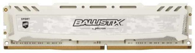 Memória RAM DDR4 Ballistix Sport LT 8GB 2666MHz BLS8G4D26BFSCK CRUCIAL